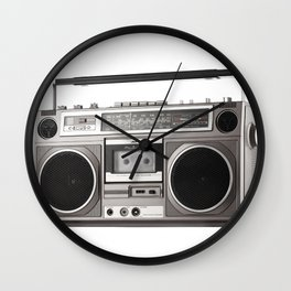 Taking it Back Old School / Boombox Wall Clock
