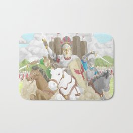 Into the Fray Bath Mat