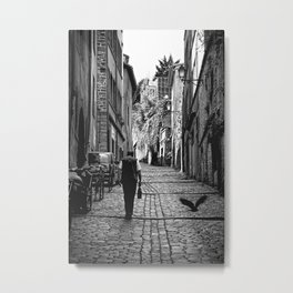 walking home Metal Print