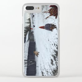competitors Clear iPhone Case