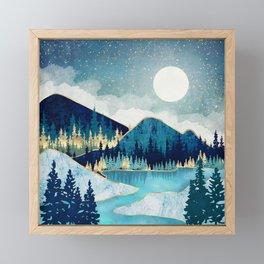 Morning Stars Framed Mini Art Print