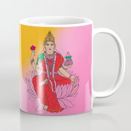Laxmi Goddess Coffee Mug