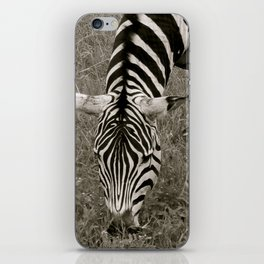 Zebra crossing iPhone Skin