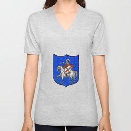 Coat of arms from Dizionario corografico dell Italia Unisex V-Neck