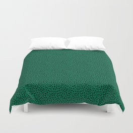 LEOPARD PRINT in GREEN | Collection : Leopard spots – Punk Rock Animal Print Duvet Cover