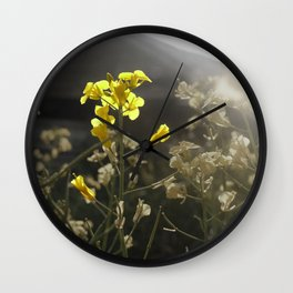 Summer Yield Wall Clock