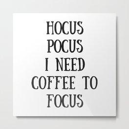 Hocus Pocus Metal Print