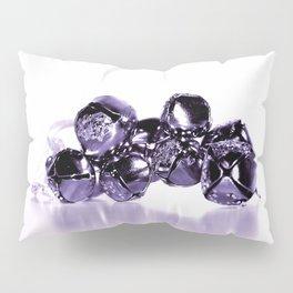 Purple Silver Bells Pillow Sham