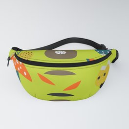 Modern decor with fruits and flowers Fanny Pack