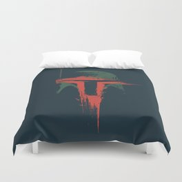 Boba Fett Art - StarWars Fan Painting Duvet Cover