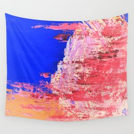 Into the Mist Pantone Color of the Year 2016 Abstract Wall Tapestry