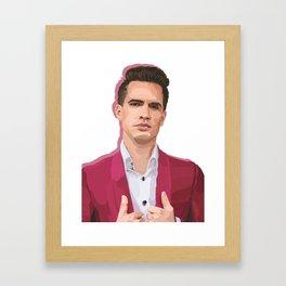 formal brendon Framed Art Print