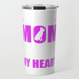 Rescue Dog Moms Full Heart Mothers Day T-Shirt Travel Mug