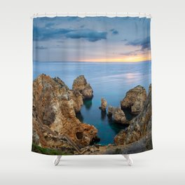 Ponta da Piedade, Lagos, Portugal Shower Curtain