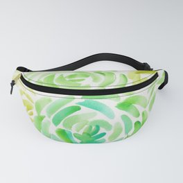 6  |  190411 Flower Abstract Watercolour Painting Fanny Pack