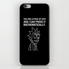 Mathematically iPhone & iPod Skin