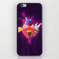 Cursed Heart iPhone & iPod Skin