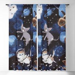 Cat Space Blackout Curtain