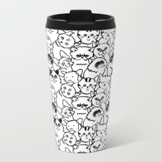 Oh Cats Metal Travel Mug