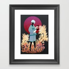 The tale of the Karma Demon Framed Art Print