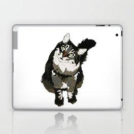 Cat Yellow Eyes Laptop & iPad Skin
