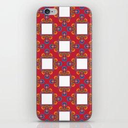 Czerwony iPhone Skin