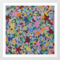 Shooting Stars Art Print