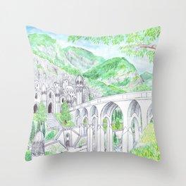 Nargothrond Throw Pillow