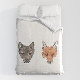 Arctic Fox Red Fox Comforters