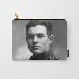 Ernest Hemingway in Uniform, 1918 Carry-All Pouch