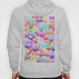 Bubble Hearts Light Hoody