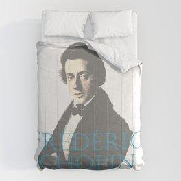 Frederic Chopin Portrait Comforters