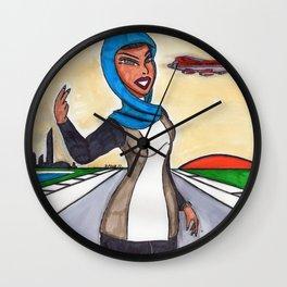 Beth At Liberty Park Wall Clock