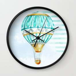 Up Up And Away Wall Clock