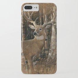 Deer - Birchwood Buck iPhone Case