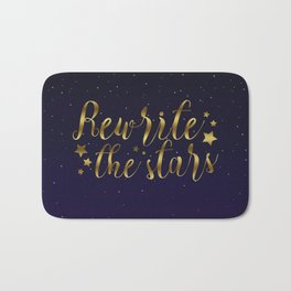 Rewrite the Stars - The Greatest Showman Bath Mat