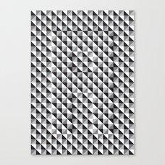 Typoptical Illusion A no.3 Canvas Print