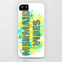 Mermaid Vibes iPhone Case