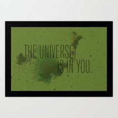 Forged in the Stars Art Print