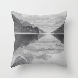 Loch Shiel Throw Pillow