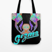 gizmo Tote Bags featuring Gizmo by Gizmo