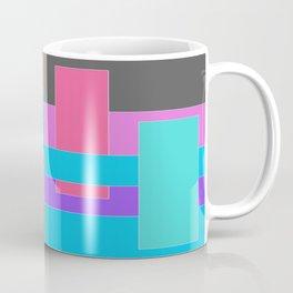 Color Blocking Coffee Mug