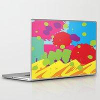 graffiti Laptop & iPad Skins featuring Graffiti by rivercbishop