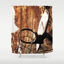 Basketball Art Shower Curtain