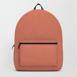 PPG Glidden Summer Sunset (Orange Dark Peach) PPG1192-6 Solid Color Backpack