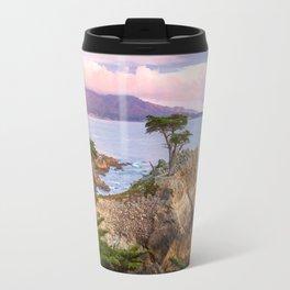 Lone Cypress Spring Sunset Travel Mug
