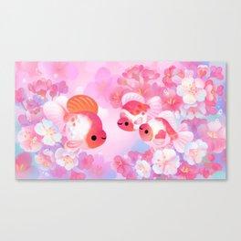 Sakura Ryukin Canvas Print