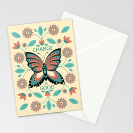 Change is Good Stationery Cards