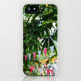 Dreamy Mexican Street iPhone Case