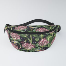 night work in the garden Fanny Pack